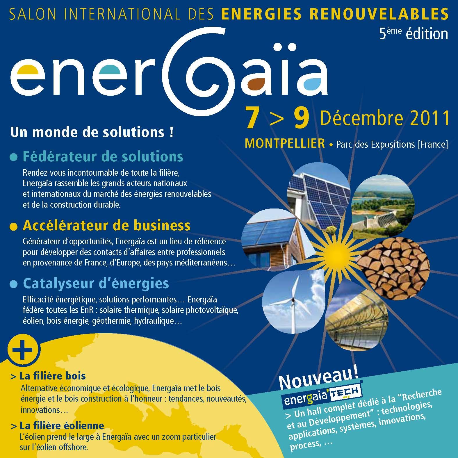 Bois energie 66 newsletter novembre 2011 for Salon energie renouvelable